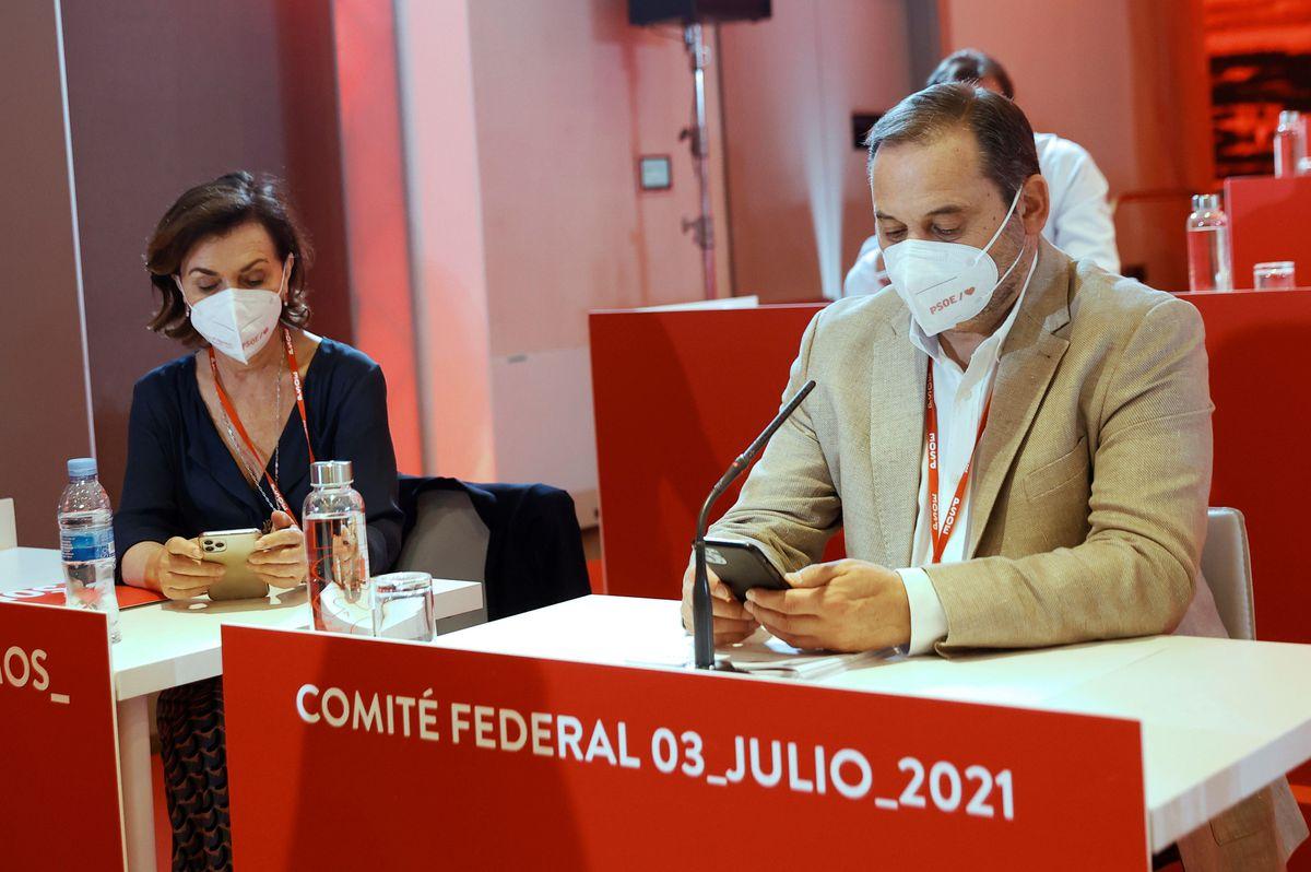 Ábalos deja de ser secretario del PSOE  España