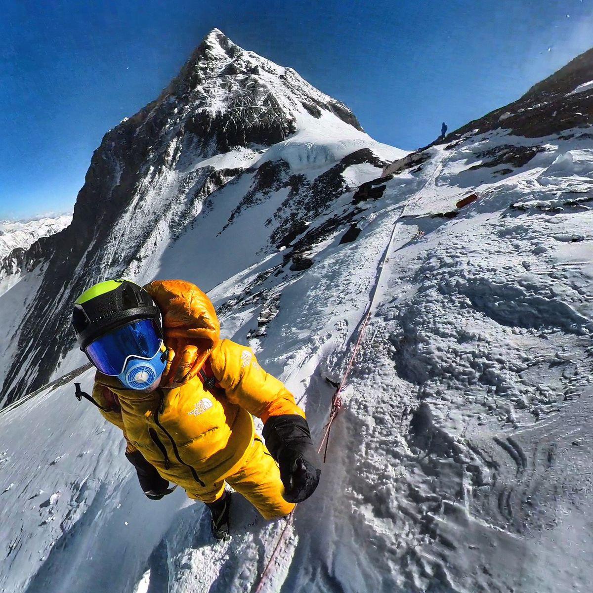 """""""Acepto el circo del Everest"""".  El escalador  deporte"""