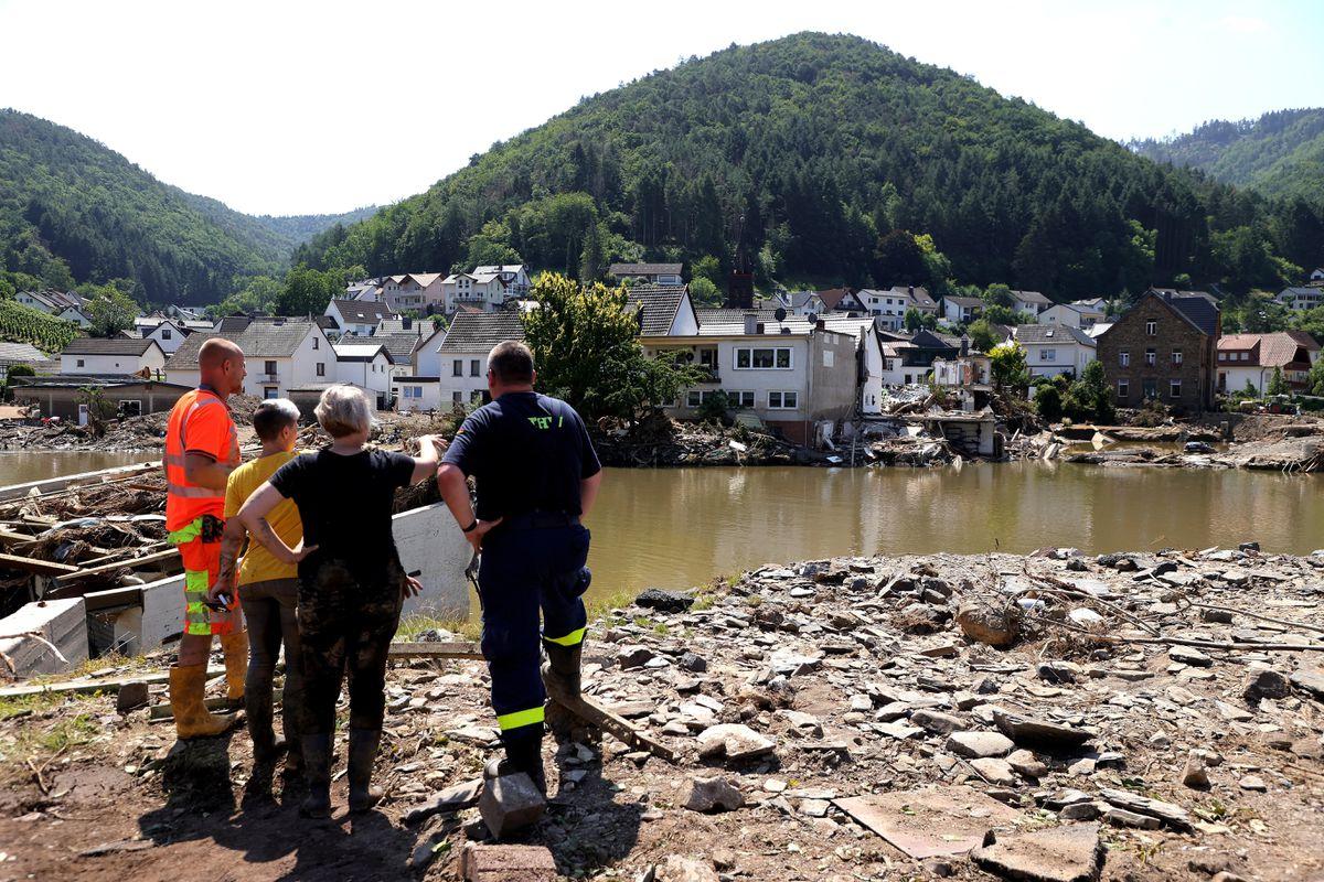 Alemania prepara un fondo de recuperación y aprueba el socorro de emergencia por inundaciones  Internacional