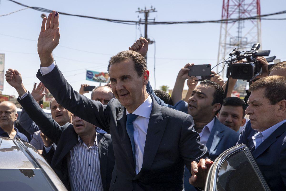 Assad ha sido juramentado como presidente sirio por cuarta vez consecutiva  Internacional