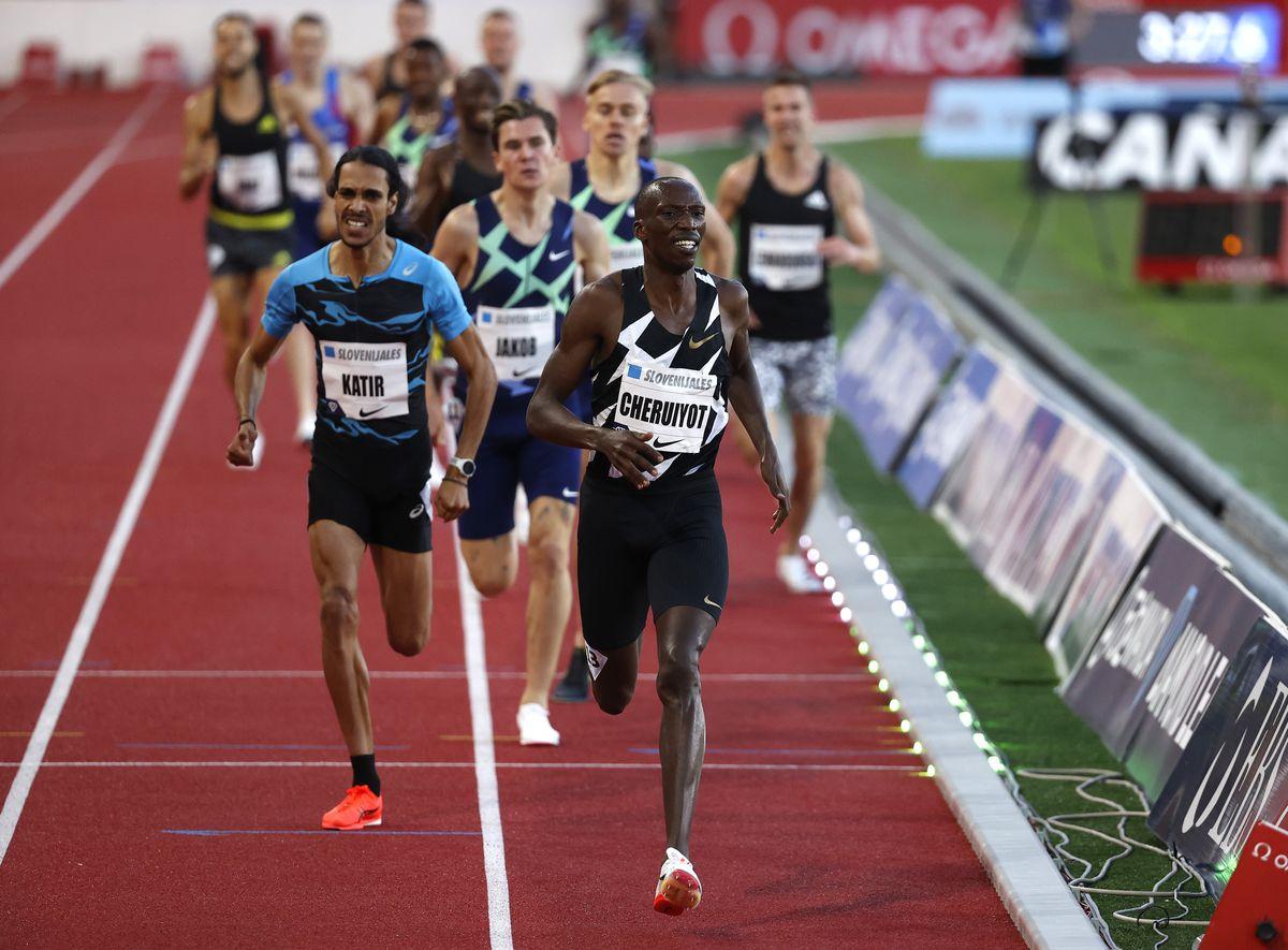 Atletismo: Mo Katir batió el récord español de 1.500 metros de Fermin Cacho    deporte