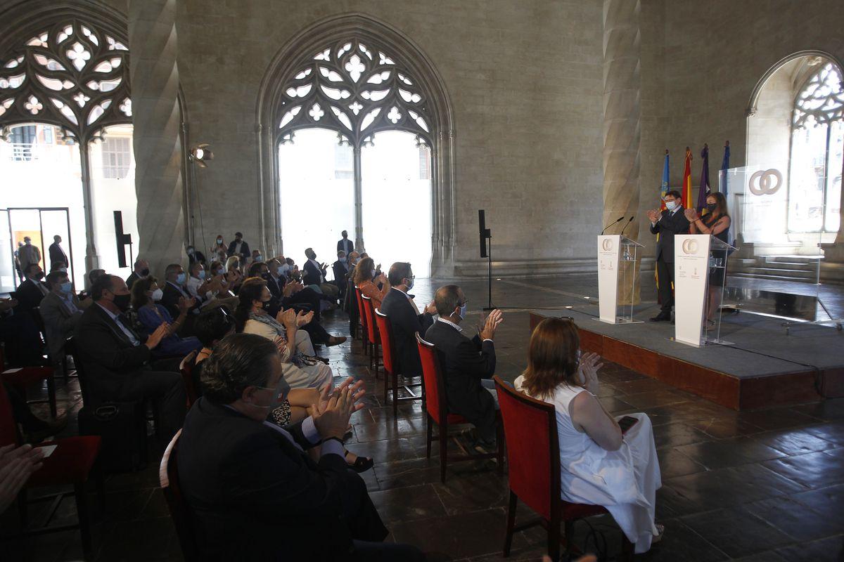 Baleares y Valencia unen fuerzas para pedir un cambio en el sistema de financiación que incluya una población flotante |  Ciencias económicas