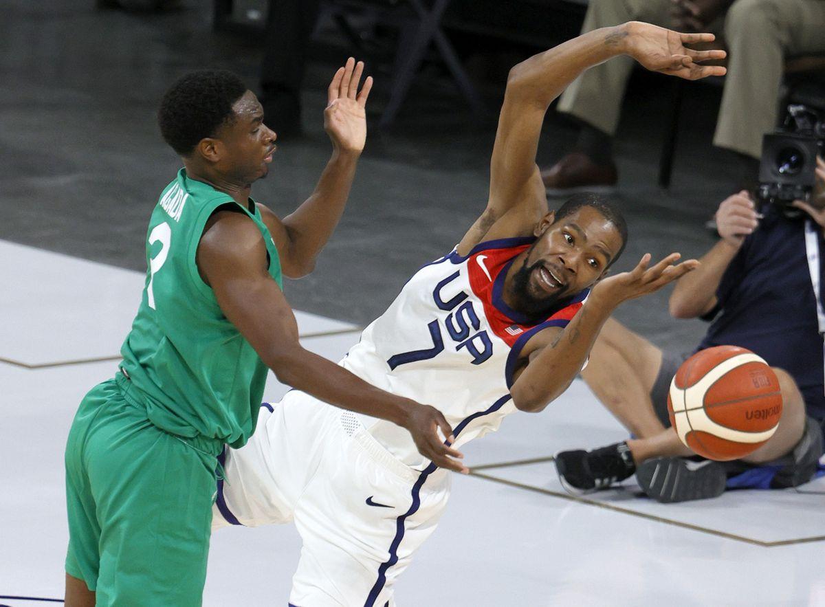 Baloncesto: Nigeria da una gran sorpresa ante EE.UU. (87-90) camino a los Juegos Olímpicos    deporte
