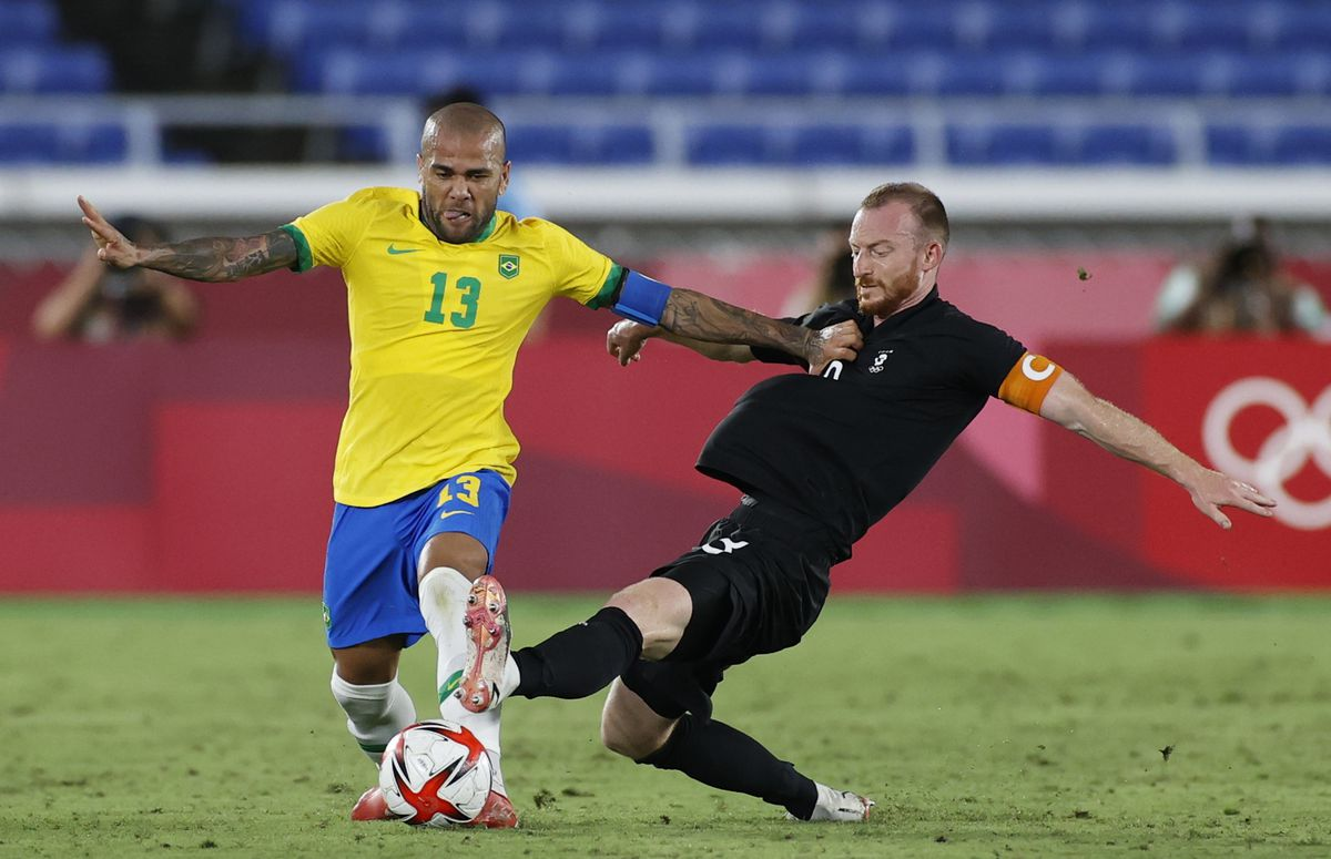 Brasil - Alemania: el oro perdido de Danny Alves  Juegos Olímpicos 2021