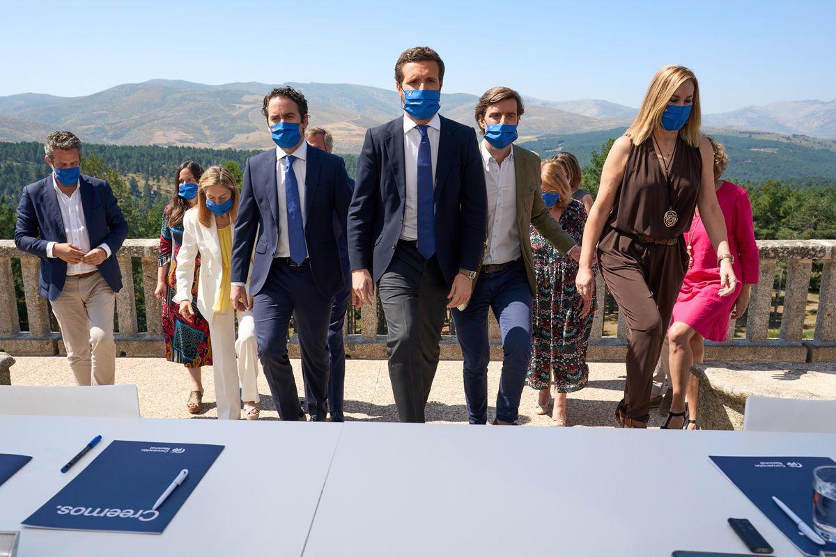 Casado cree que la batalla con Vox por el liderazgo de la ley ha terminado  España