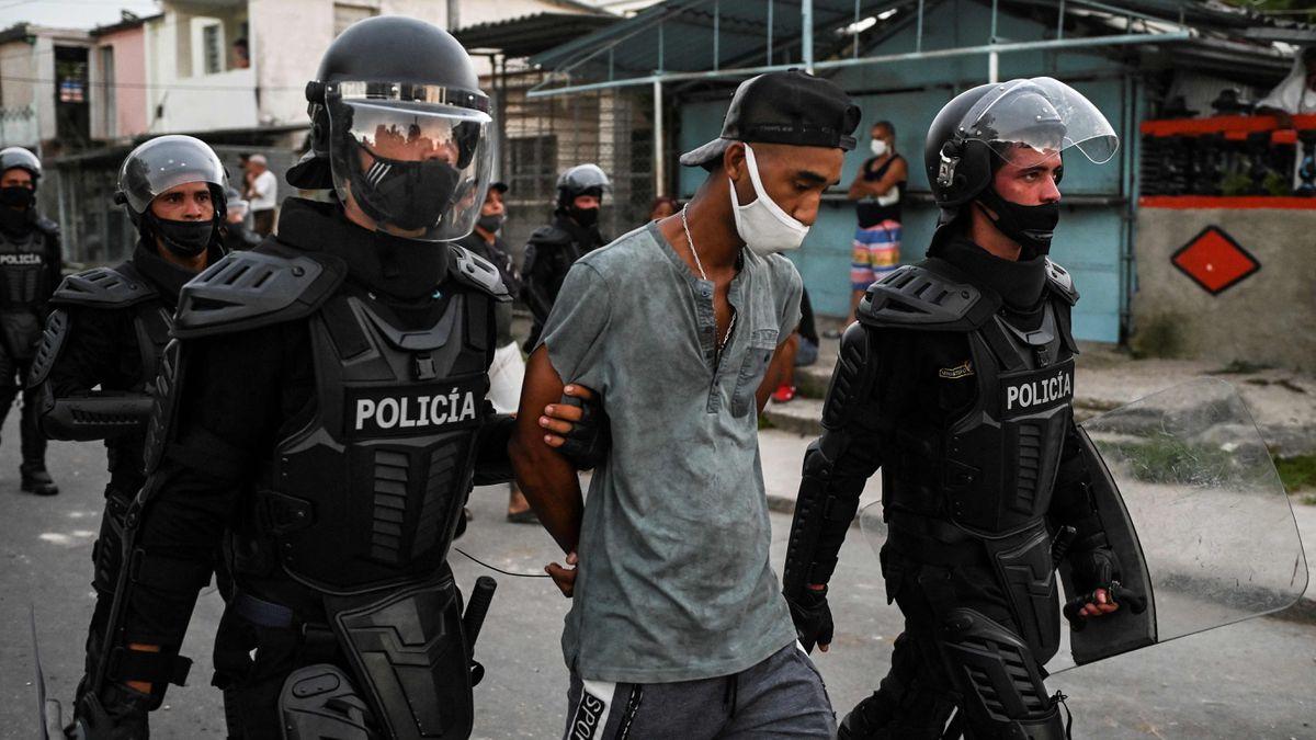Comienzan en Cuba juicios sumarios contra participantes en las protestas del 11 de julio  Internacional