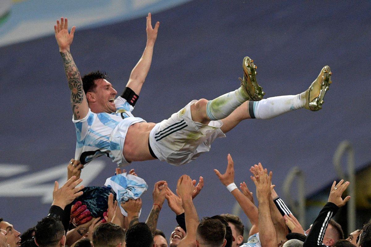 Copa América 2021: Messi, el argentino  Copa de fútbol americano 2021