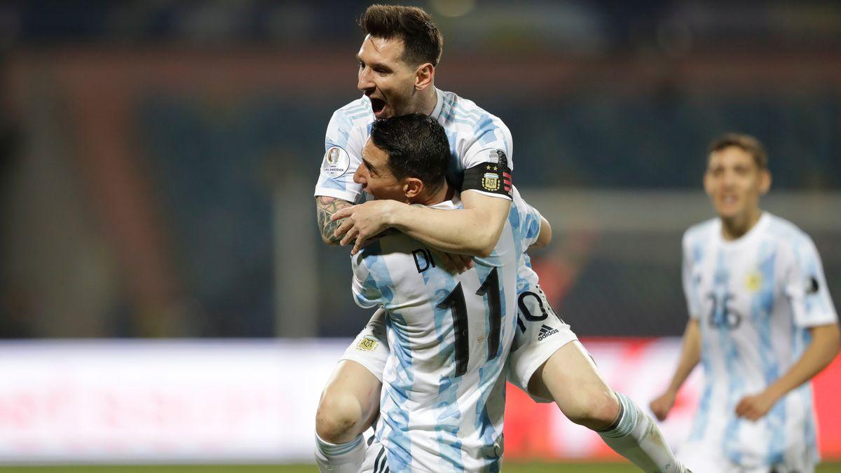 Copa América: Messi expande Argentina  Copa de fútbol americano 2021