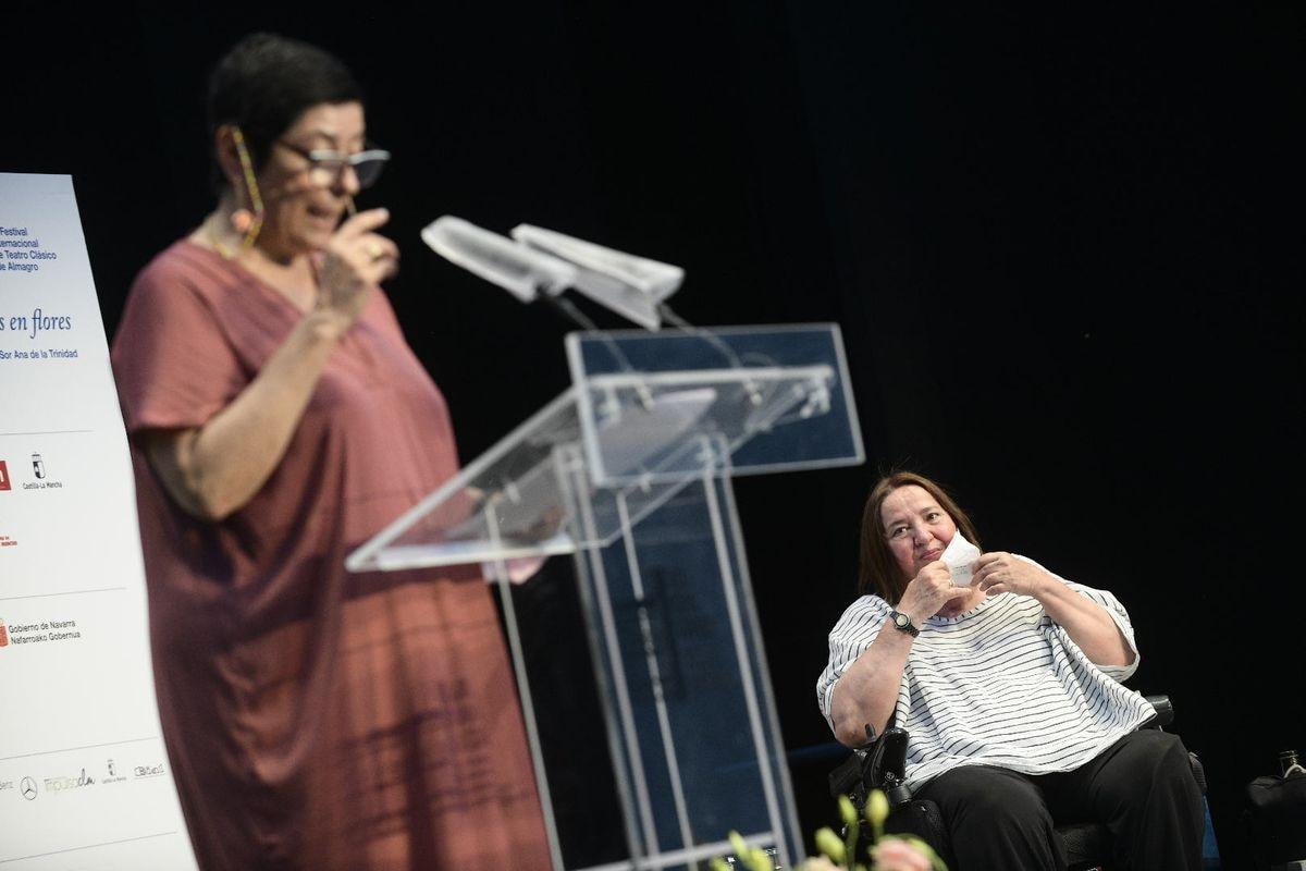 "El Festival de Teatro de Almagro celebra la labor ""indomable"" de la periodista Rosana Torres |  Cultura"