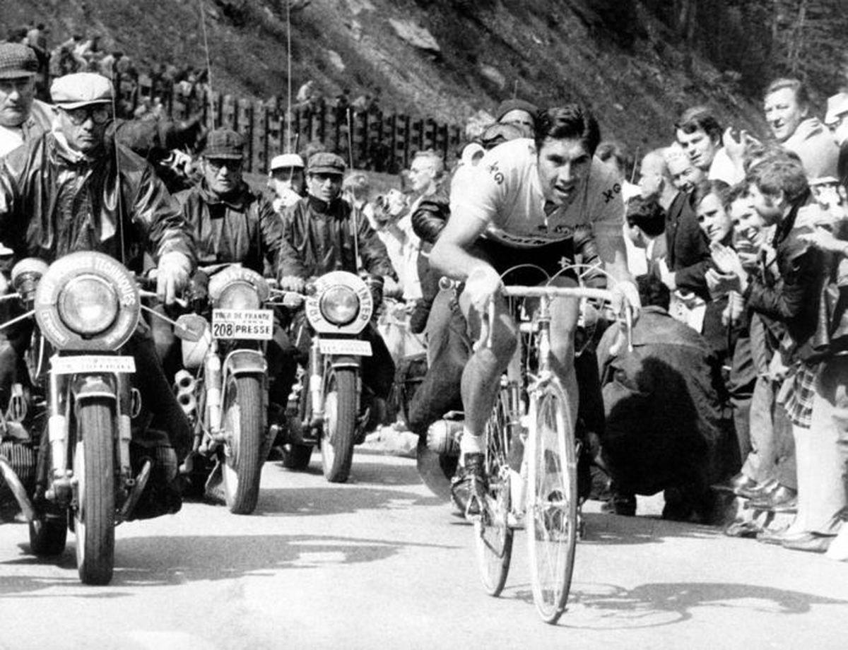 El Merckx irresoluble de su primera gira  deporte