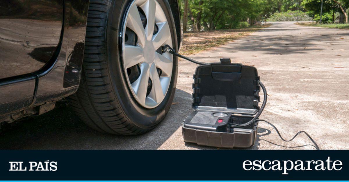 El compresor de aire para el coche, con el que se inflan los neumáticos en menos de cinco minutos y sin pasar por la estación de servicio |  Escaparate