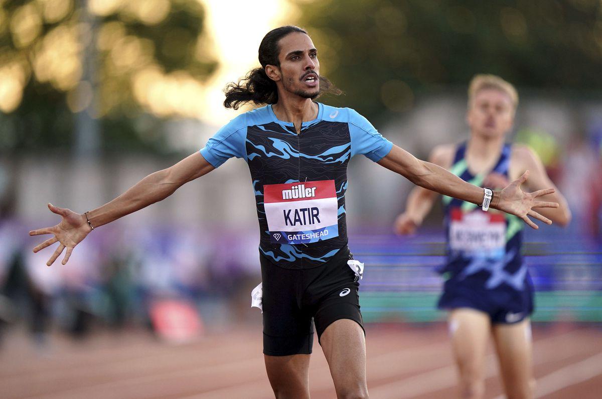 El deportista más moderno del mundo: Mohamed Katir, tres récords en 33 días  deporte