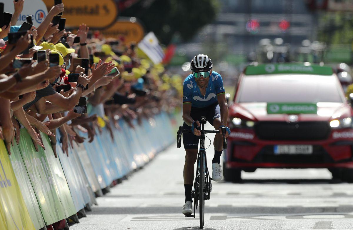 El júbilo olímpico de Alejandro Valverde  Juegos Olímpicos 2021