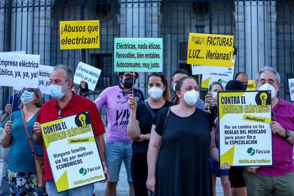 El precio de la electricidad superará los 100 euros el megavatio hora este martes, el segundo más caro de la historia |  Ciencias económicas