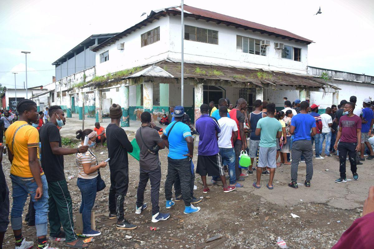 En los últimos días, miles de haitianos han llegado al sur de México