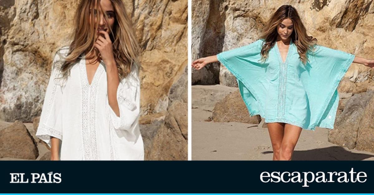 En seis colores y corte amplio: este es el vestido de playa más vendido de Amazon que se adapta a diferentes tallas |  Escaparate