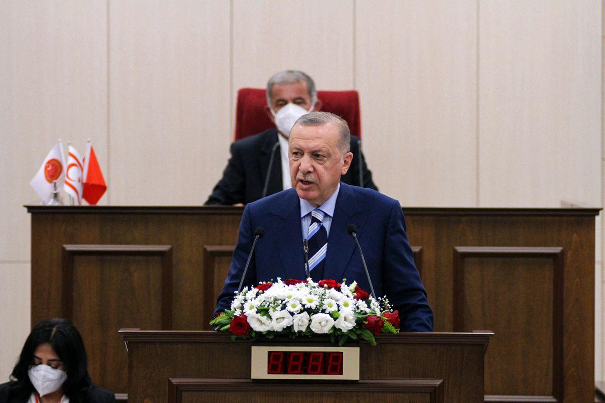 Erdogan buscará apoyo para la creación de un estado independiente para el norte de Chipre  Internacional