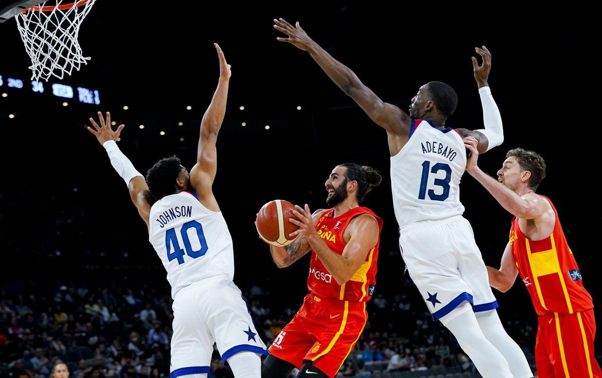 España muestra sus cartas y EE. UU. Muestra sus dientes  Juegos Olímpicos 2021