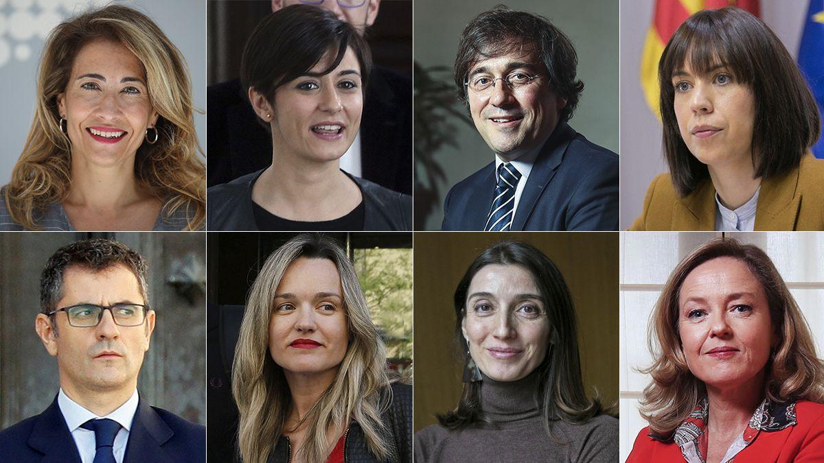 Estos son los nuevos ministros tras la reorganización del gobierno  España