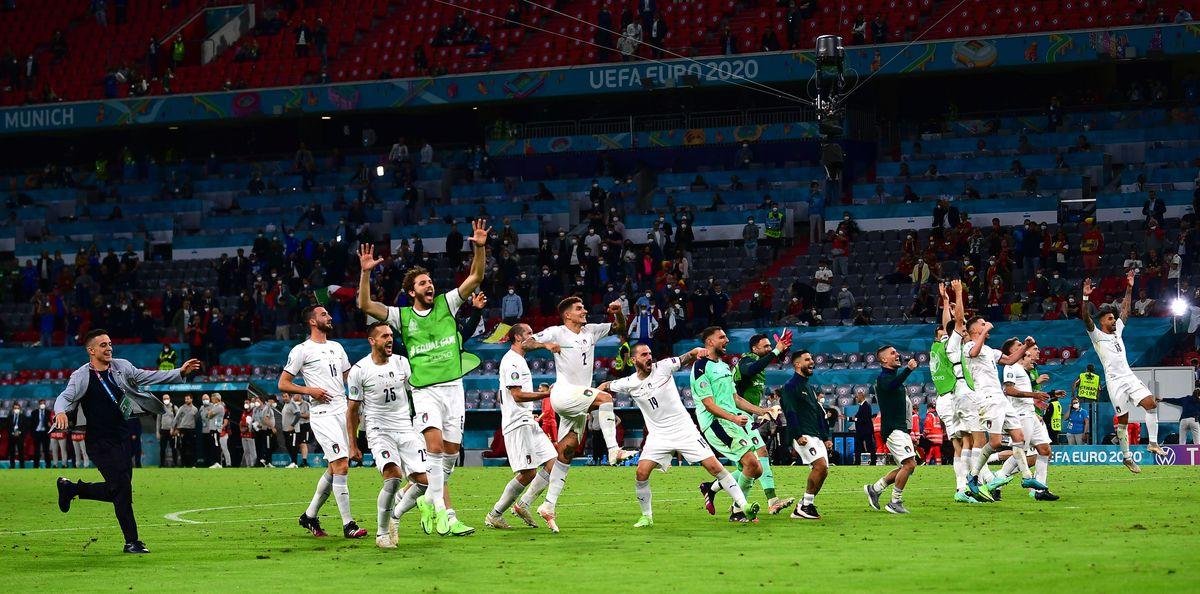Euro 2021: Italia por tierra, mar y aire  Fútbol Eurocup 2021