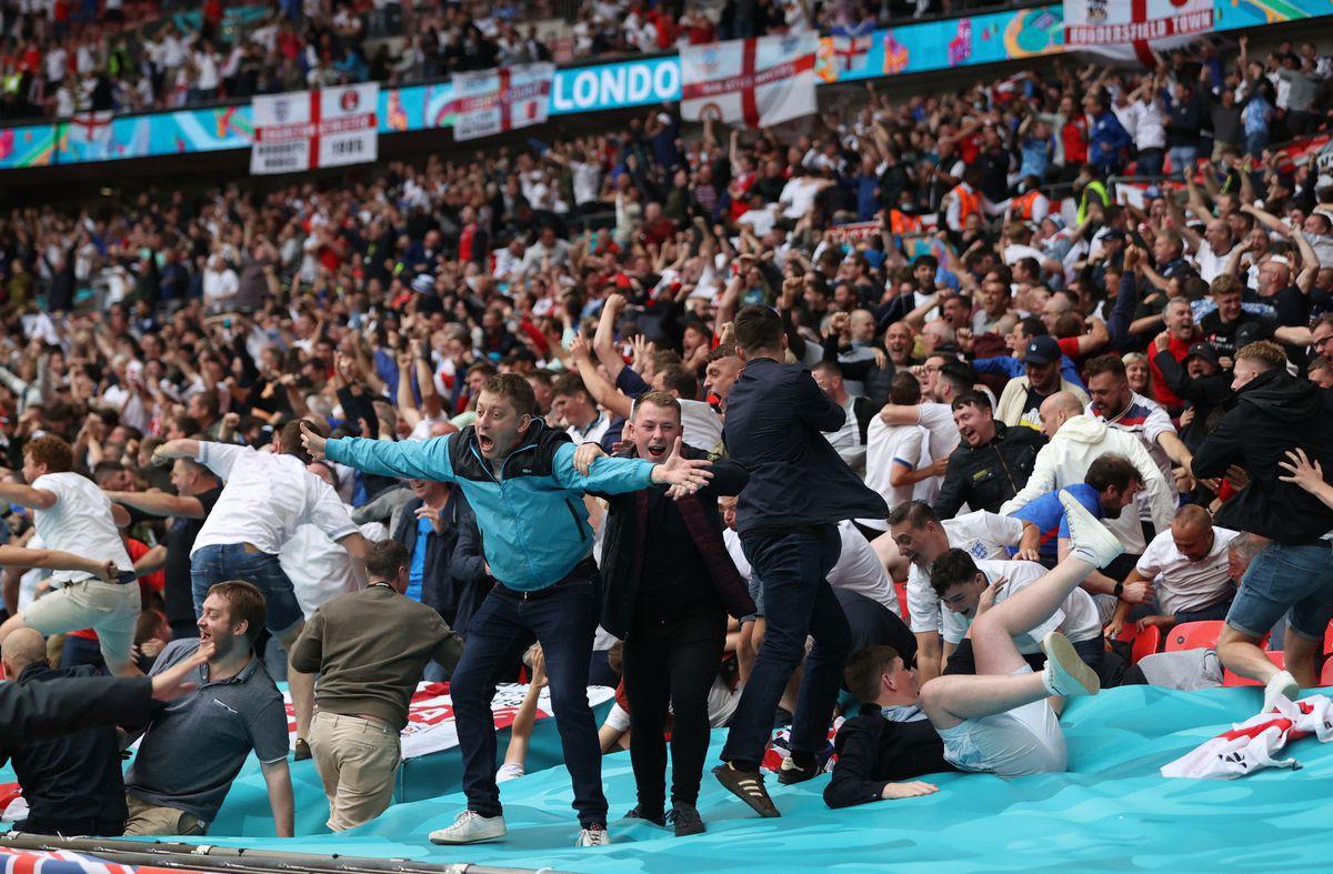 Eurocopa: Partido contra toda Inglaterra  Fútbol Eurocup 2021