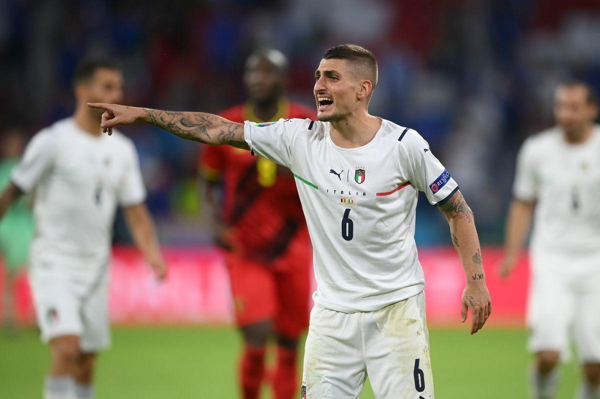 Eurocopa: la etiqueta italiana se llama Verratti  Fútbol Eurocup 2021