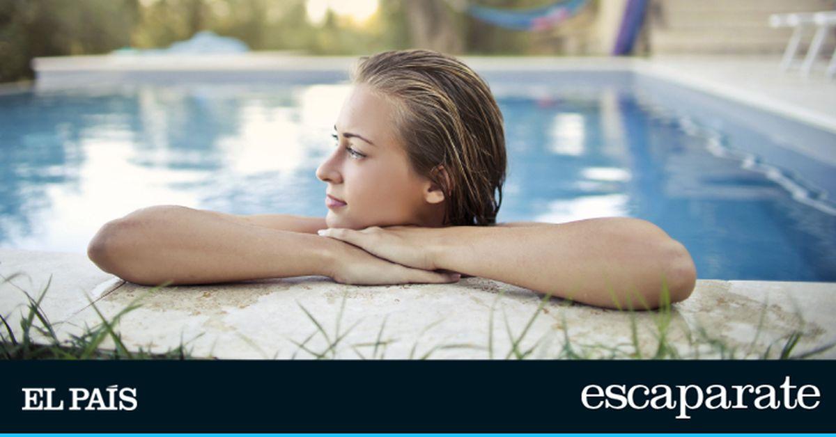 Evita que el cabello rubio se ponga verde en la piscina con estos productos y trucos caseros  Escaparate
