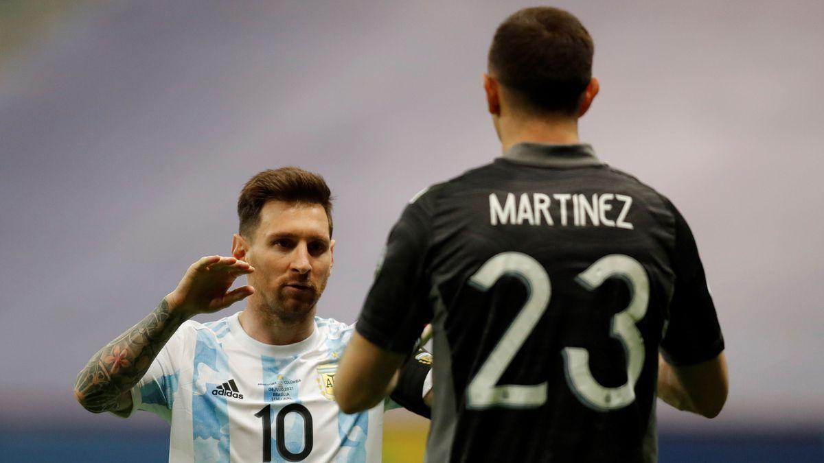 Final de la Copa América: Messi se encuentra con Neymar  Copa de fútbol americano 2021