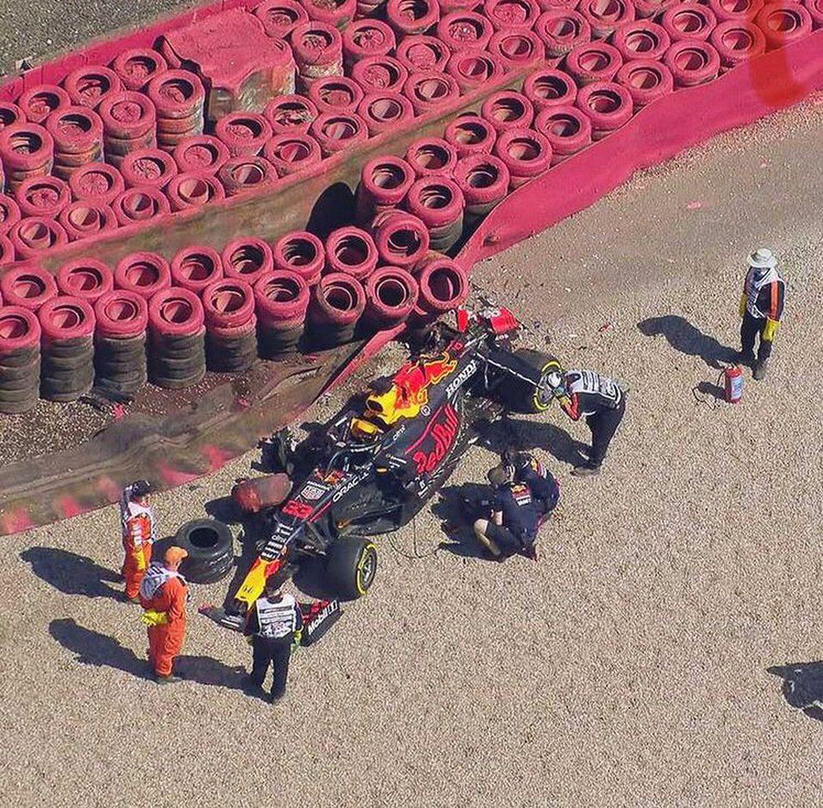 Gran Bretaña F1 GP: Verstappen sufre un duro golpe  deporte