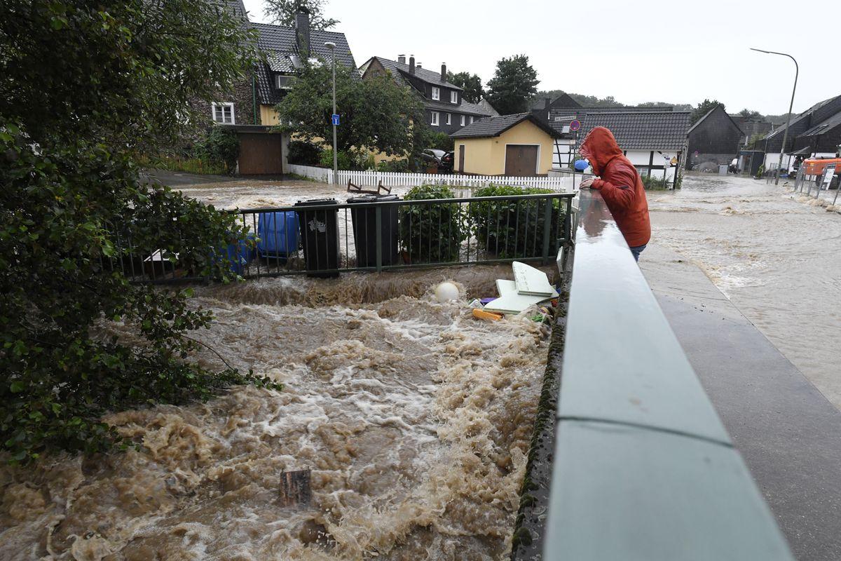 Inundaciones: al menos seis personas mueren en una tormenta en Alemania  Internacional