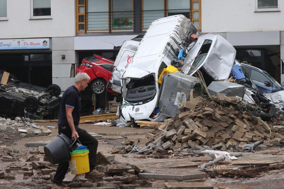 Inundaciones: cruel destrucción en el corazón de Europa  Internacional