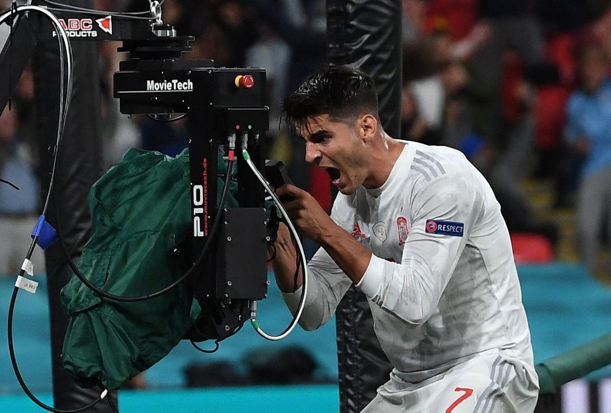 Italia: Más de 14 millones de espectadores vieron perder a España en los penaltis en las semifinales de la Eurocopa 2020    televisor