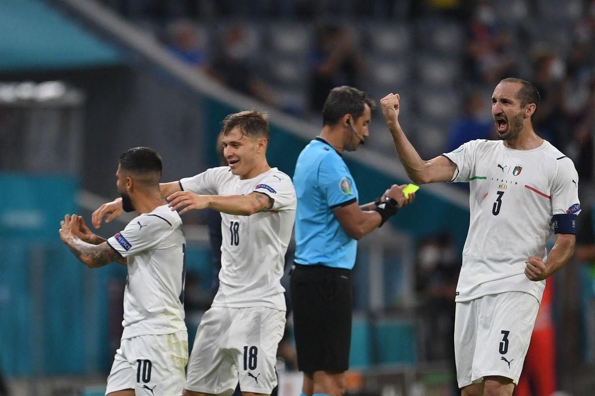 Italia derrota a Bélgica y jugará una semifinal contra España  Fútbol Eurocup 2021