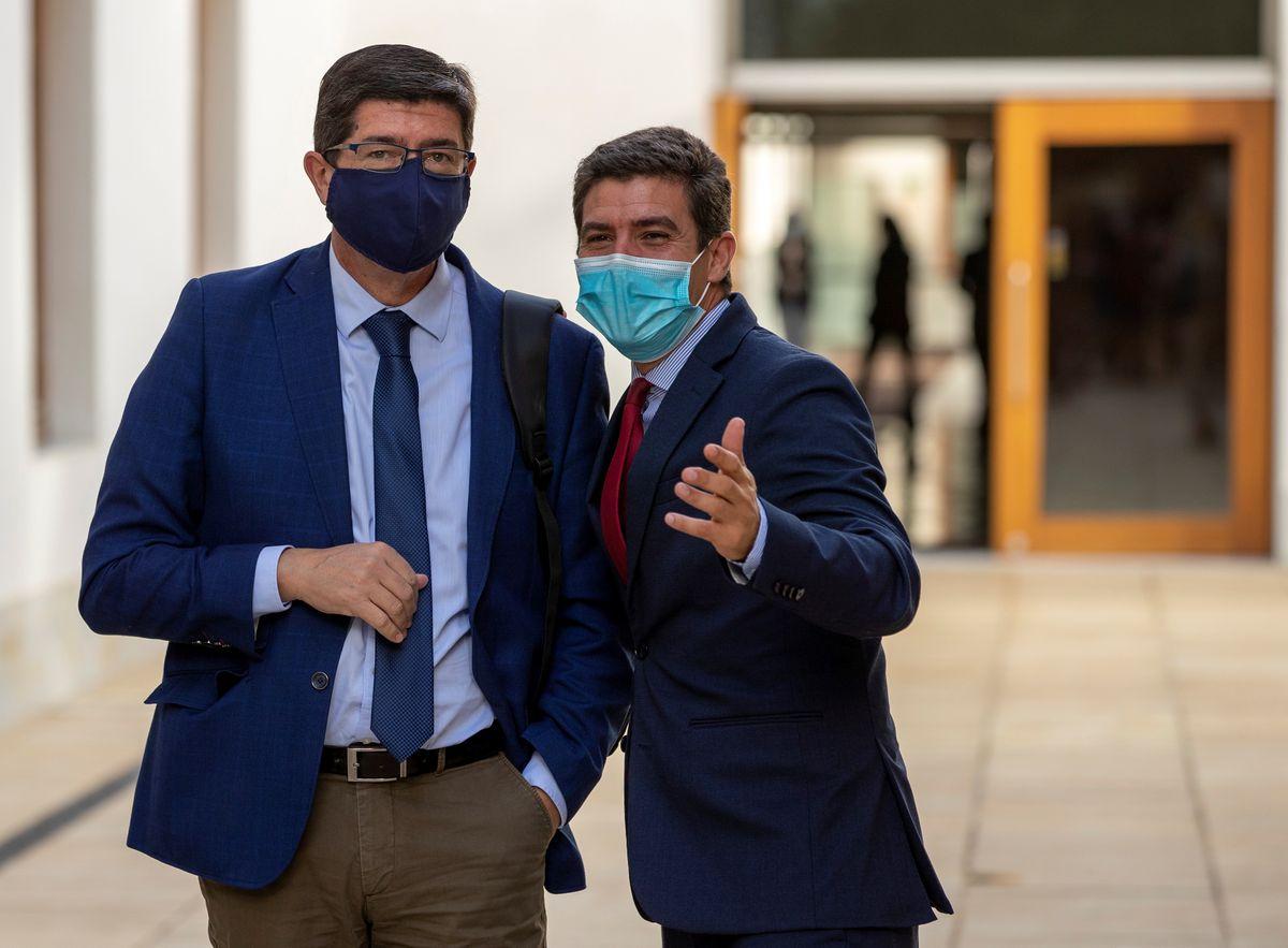 Juan Marín gana pulso en Ciudadanos Andalucía y cambia de grupo parlamentario    España