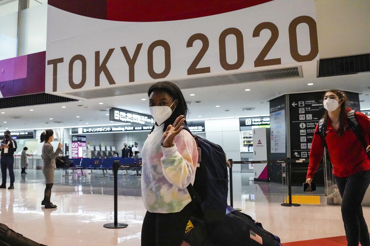 Juegos Olímpicos de Tokio 2021: US Shield Biles  Juegos Olímpicos 2021