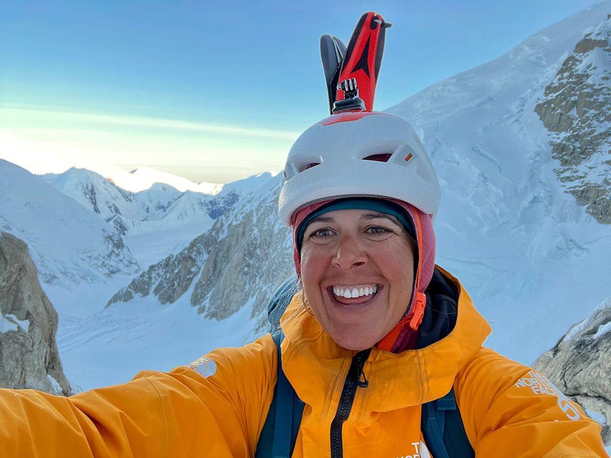 La Gran Dama del Techo de Alaska  El escalador  deporte