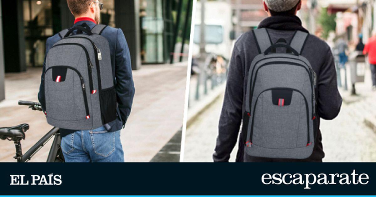 La mochila antirrobo más completa, impermeable y con cerradura de Amazon por menos de 30 € |  Escaparate
