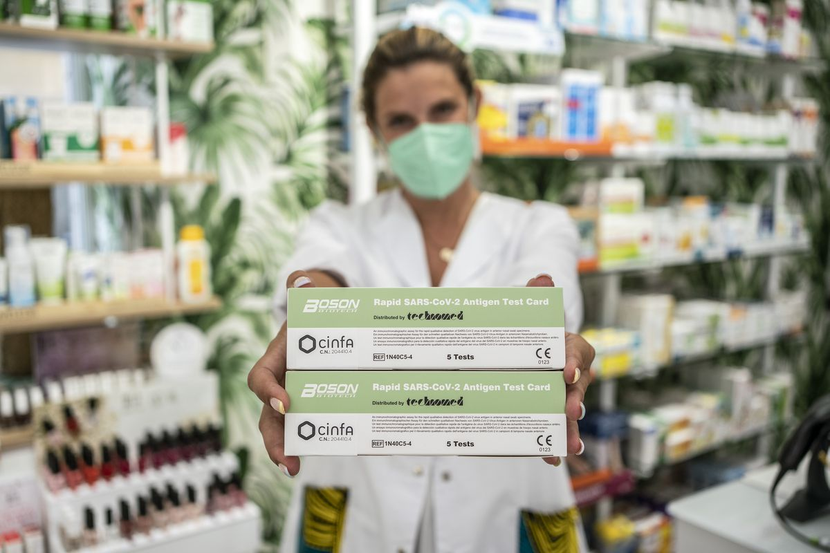 Las pruebas de autodiagnóstico se realizan un día antes de su comercialización oficial.  Comunidad