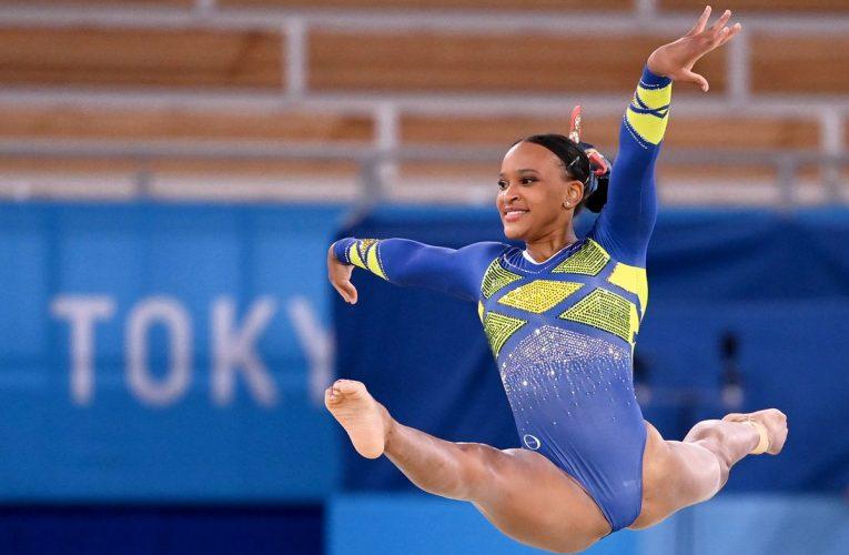 Lástima que Rebecca Andrade no ganó  Juegos Olímpicos 2021