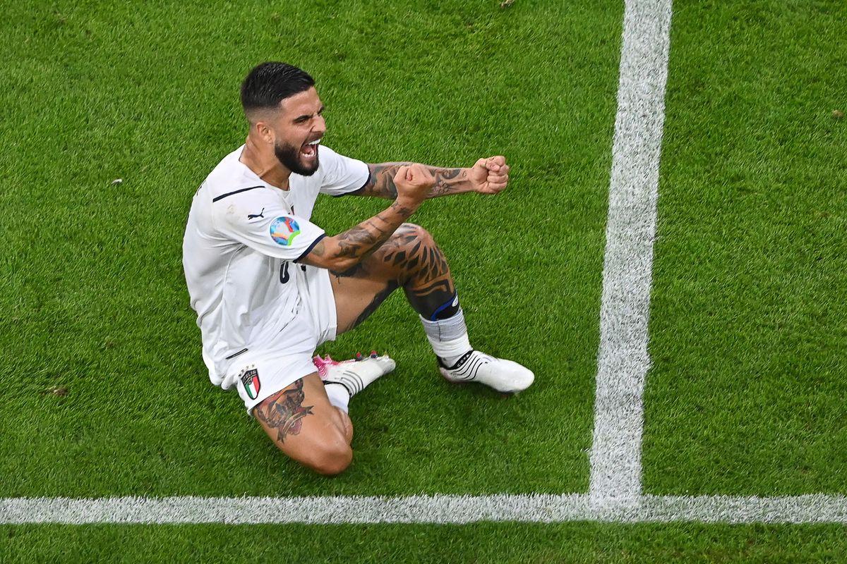 Lorenzo Insine, el afortunado corto de Italia  Fútbol Eurocup 2021