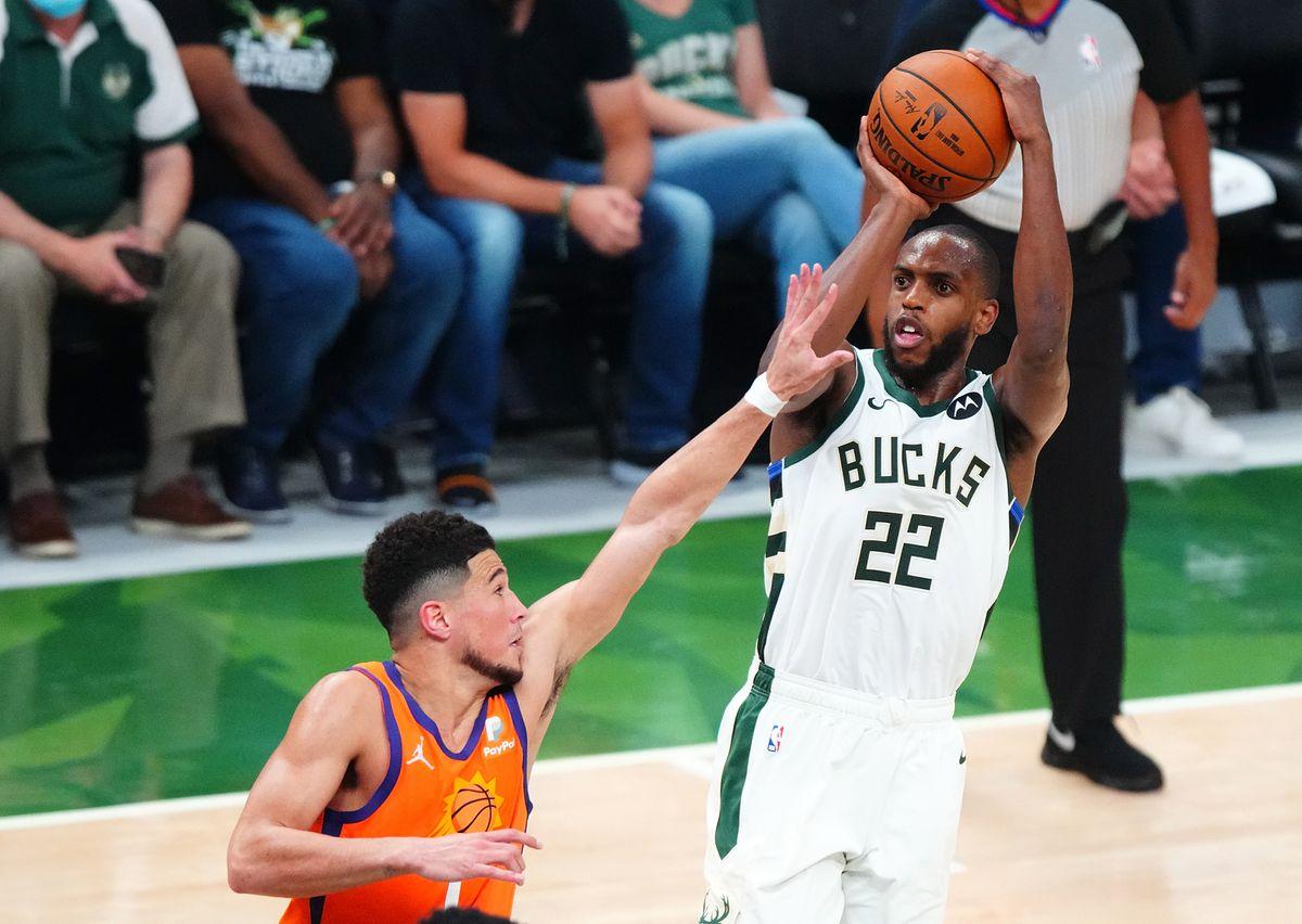 Los Bucks vinculan la final de la NBA contra los Suns con un festival de Middleton ofensivo  deporte
