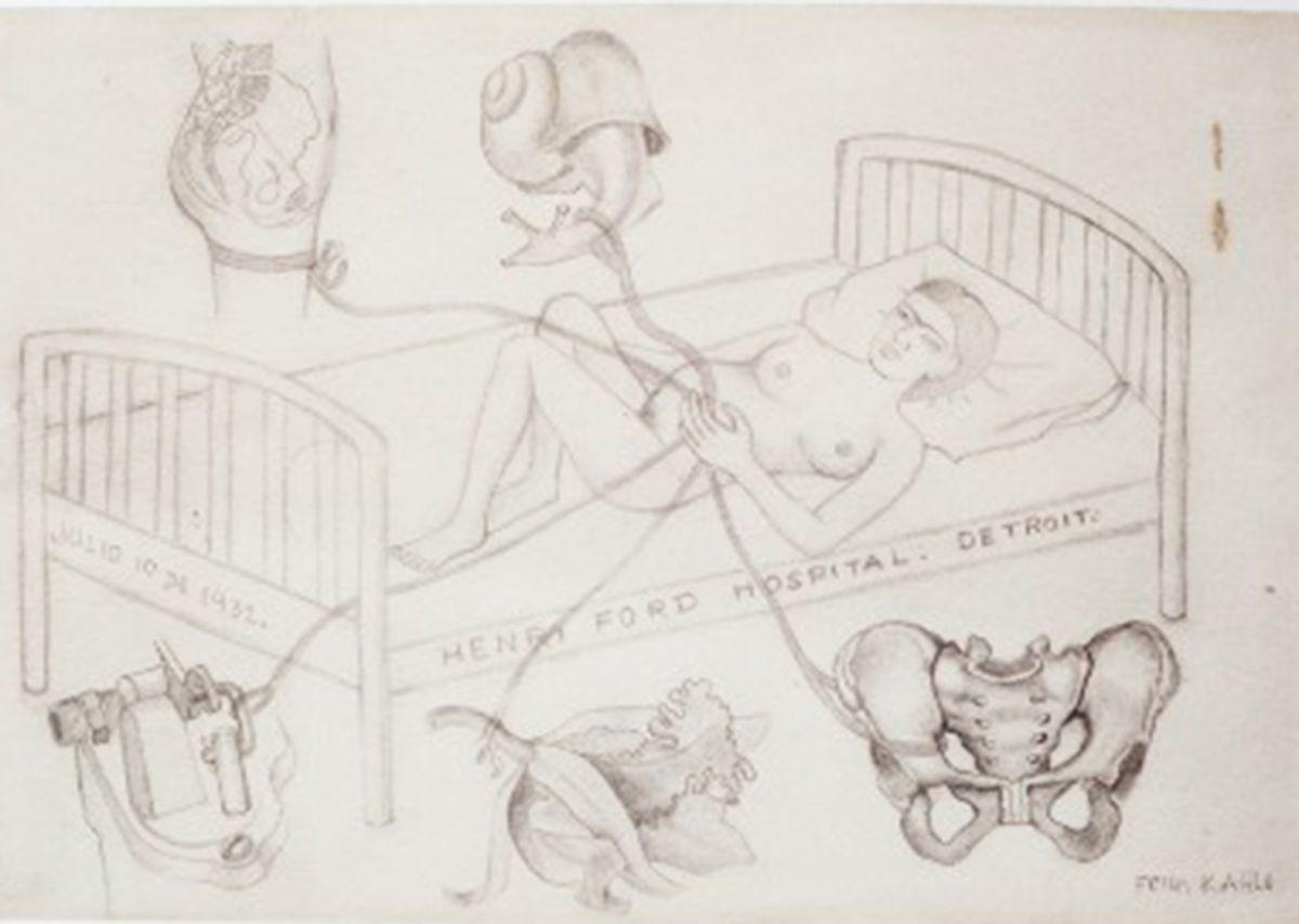 Los dibujos desconocidos de Frida Kahlo, un acercamiento íntimo a un aspecto oculto del ícono pop