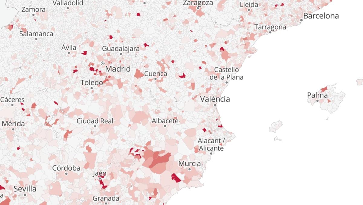 Mapa  Un tercio de los municipios redujeron su deuda en 2020 a pesar de la pandemia: consulta la situación de tu ayuntamiento    Ciencias económicas