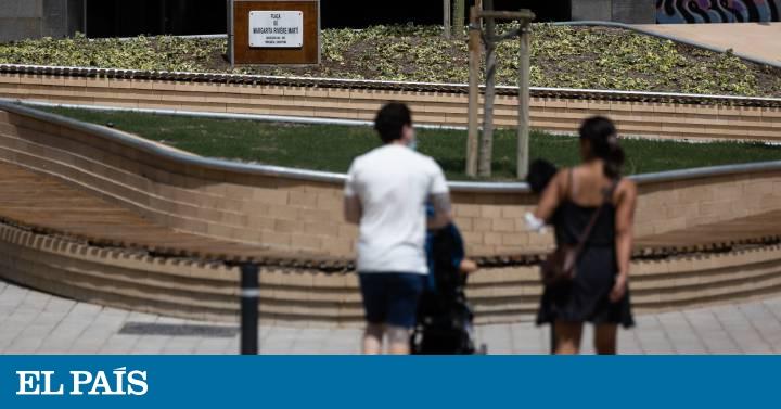 Margarita Riviere: una plaza para un periodista  El esta presente