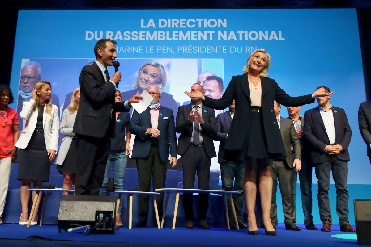 Marin Le Pen lanza su precaria campaña contra Eliseo  Internacional