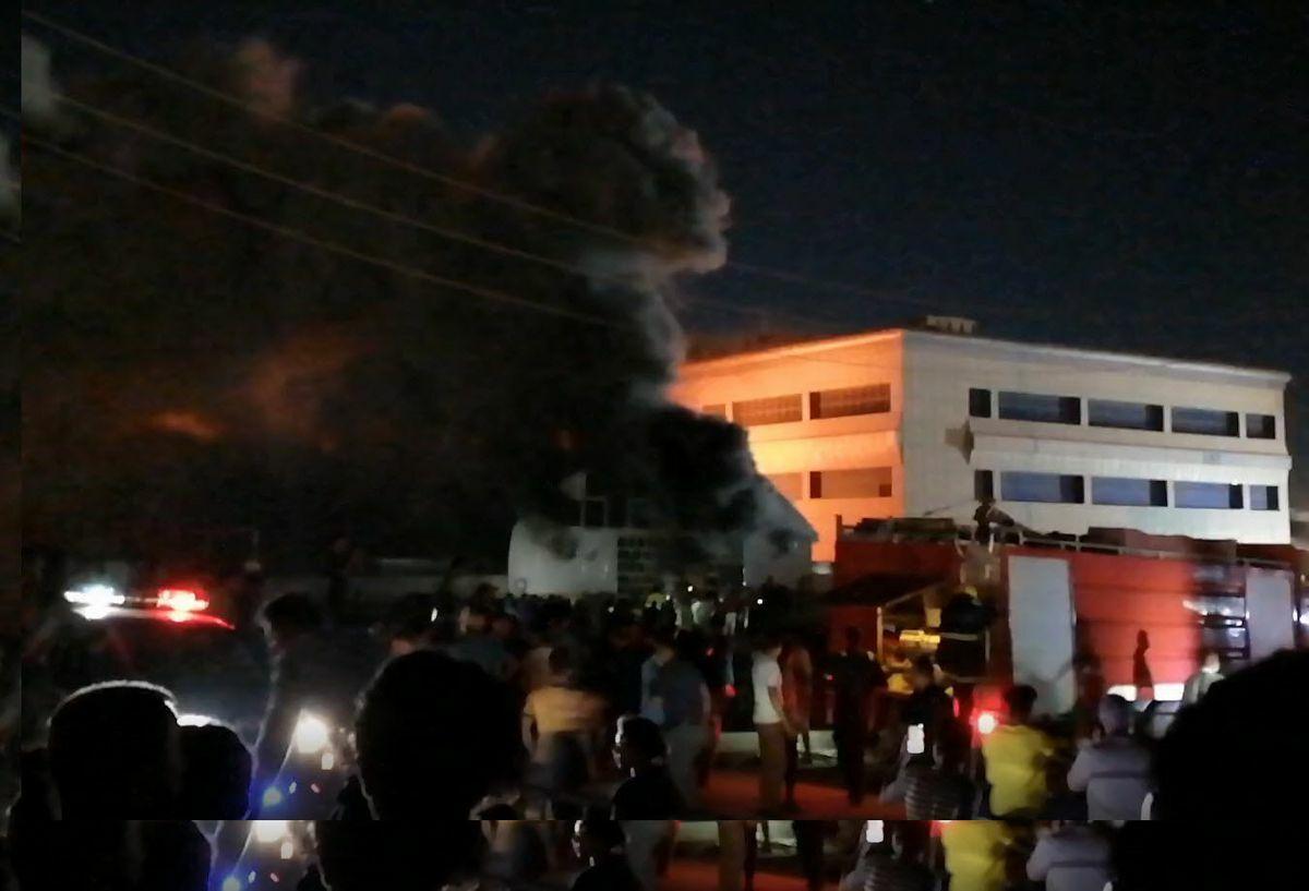 Nasiriyah: Al menos 60 muertos en un incendio en un hospital en Irak  Internacional