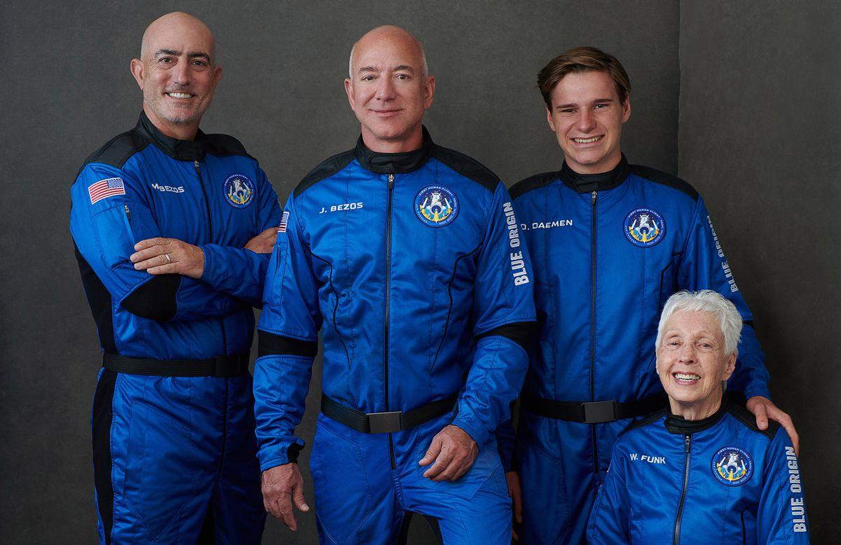 New Shepard: el vuelo espacial de Jeff Bezos a bordo de Blue Origin, en vivo    Ciencias