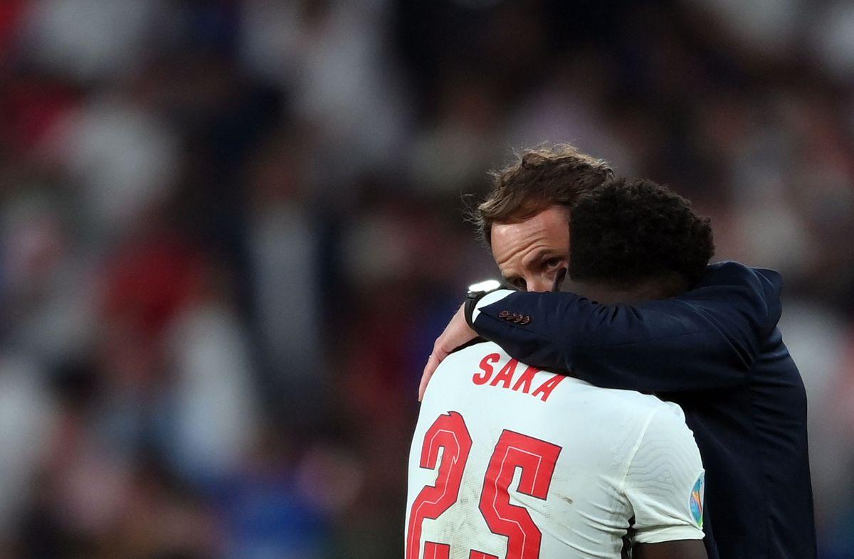 No hay paz para Gareth Southgate  Fútbol Eurocup 2021
