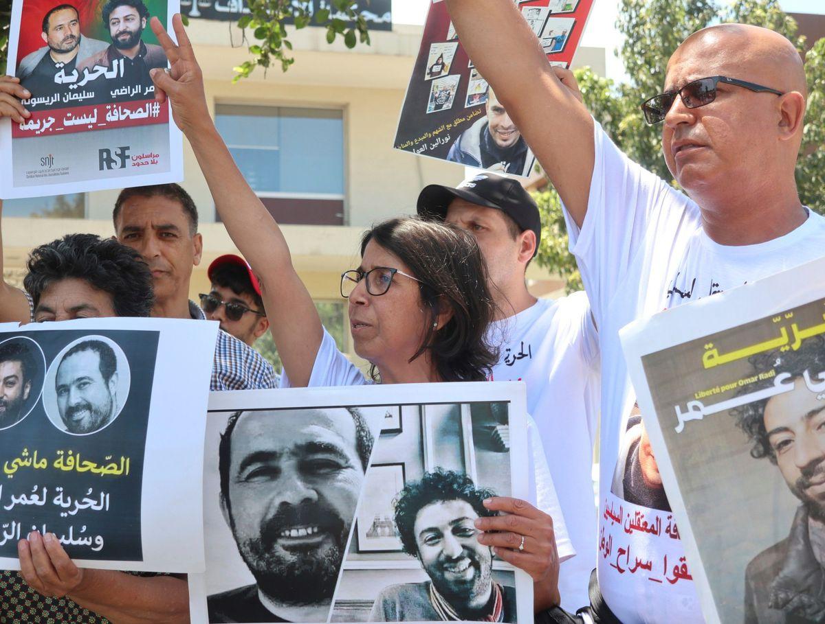 Omar Radi: La justicia marroquí condena a un periodista que critica al gobierno a seis años de prisión por violación |  Internacional