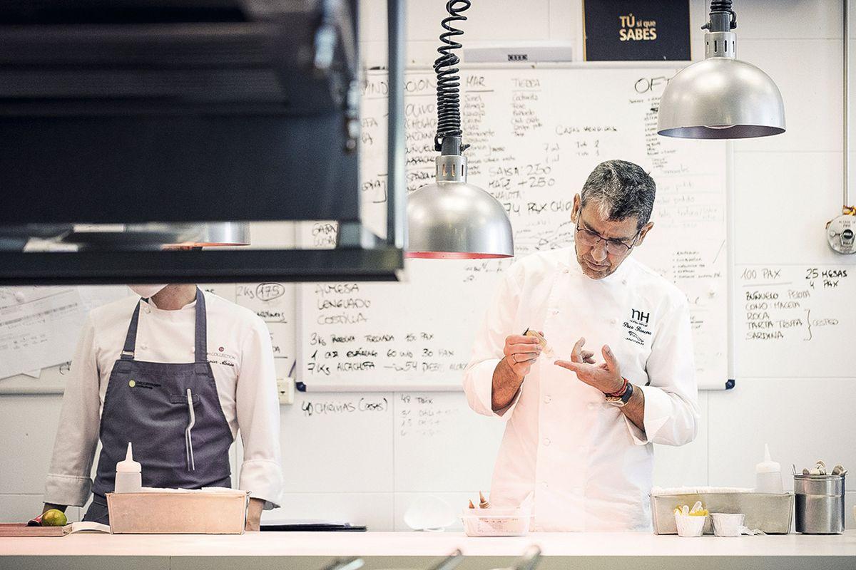 Paco Ronsero, el chef que siempre corre más rápido  EL PAÍS Semanal: Gastronomía